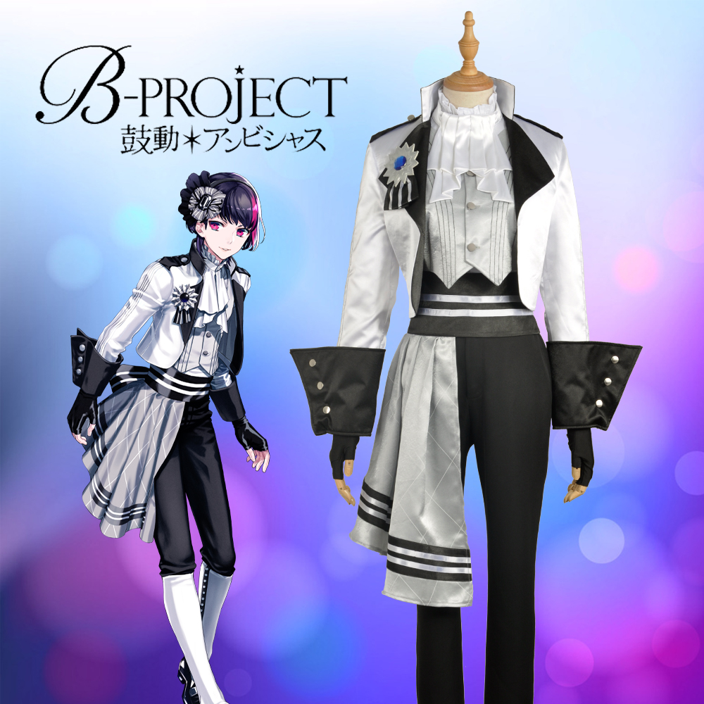 Anime/Game Virtual Idol Group B-project  KITAKORE Korekuni Ryuji Stage Cosplay Custom Costume Top Jacket Pants Men Fashion