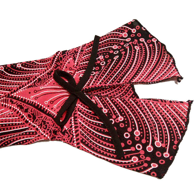 YTL большой женский цветочный принт в стиле пэчворк с рукавами-фонариками, винтажный стиль кимоно, тонкие большие украшения для футболки, блузка H016