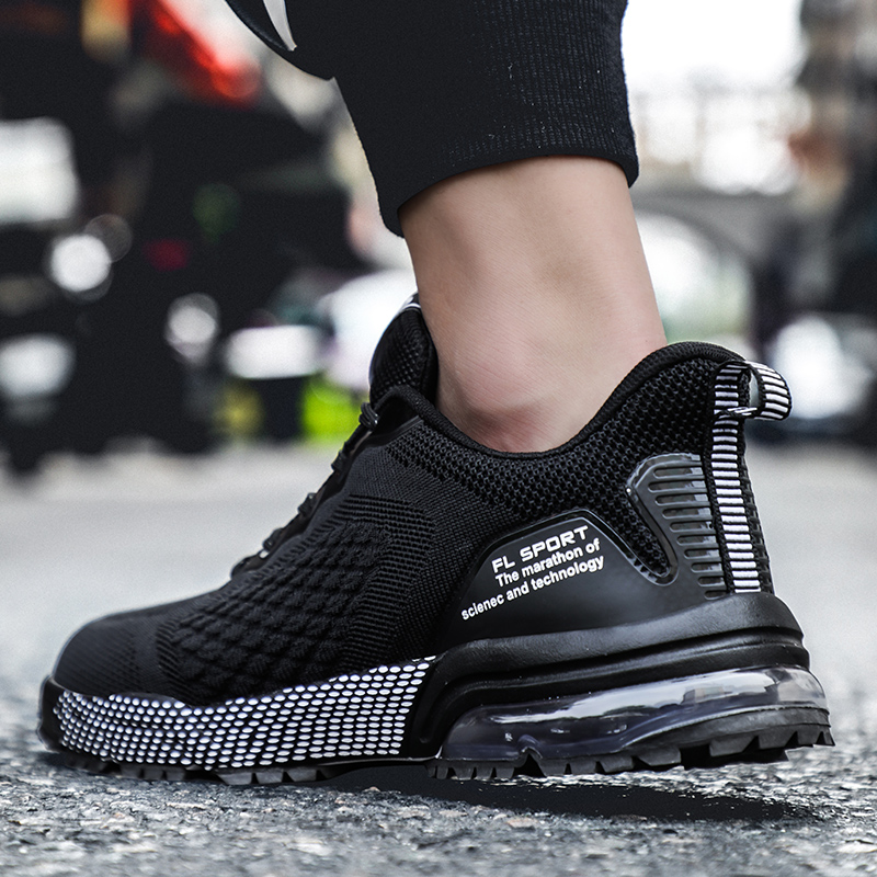 Casual Mesh Sports Shoes Men Breathable Soft Running Sneakers Men Mesh Summer Air Cushion Casual Shoes кроссовки in Running Shoes from Sports Entertainment