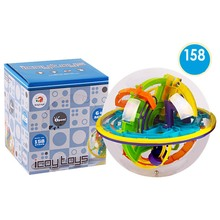 158 Steps Smart 3d Maze Ball Child Interaction Games Intelligence Toy Magical Intellect Balance Logic Ability Puzzle