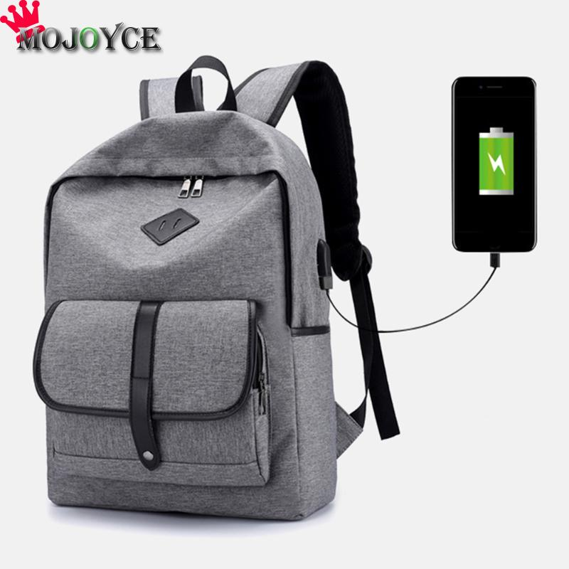 New Men Backpack For Laptop Backpack Large Capacity Stundet Backpack Casual Style Bag Multifunction USB Charging Laptop