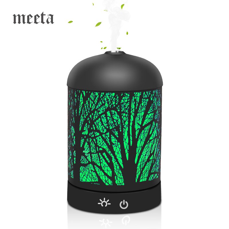 все цены на Air Humidifier Essential Oil Diffuser Aromatherapy Ultrasonic Aroma Diffusers Mist Maker for Office Home Forest Designed 160ml онлайн