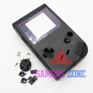 Image 2 - 4 pçs preto cinza completo habitação substituição reparação pacote caso capa para gameboy gb clássico dmg