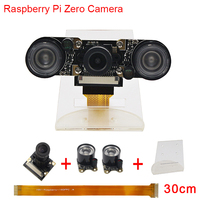 New Raspberry Pi Zero W Camera Focal Adjustable Night Vision Camera 2 pcs IR Sensor LED