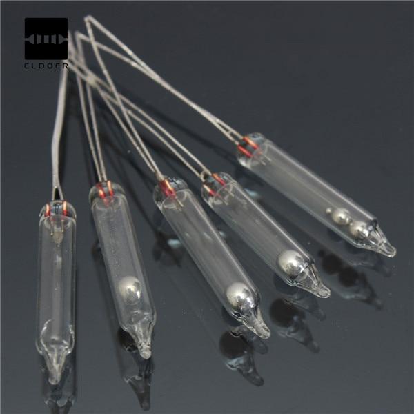 10 pcs 전자 새로운 도착 hg 기울기 스위치 0.5a/20 v PZ-101 작업 각도 봉인 된 유리 튜브 전극 및 hg로 구성 된 10도