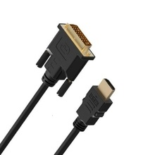 High speed HDMI to DVI 24+1 pin adapter Gold plated Male male Cable For 1080P HD HDTV PC XBOX 1m 1.5m 2m 3m 5m