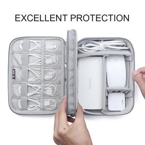 BUBM органайзер для электроники дорожный кабель шнур сумка аксессуары для гаджетов принадлежности для хранения чехлы для различных USB, телефона, зарядного устройства и кабеля