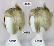 Gintama Tsukuyo Green Long Fringe Side Both Styling Anime Cosplay Wig Hair Free Shipping