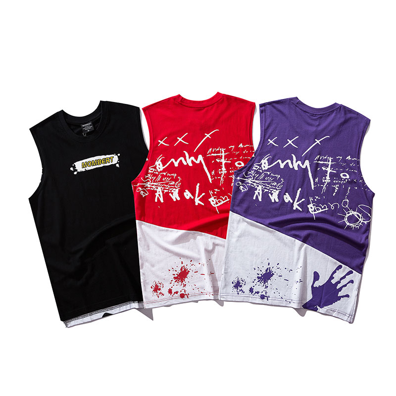 Aolamegs Tank Tops Men Mesh Camouflage Print Men 39 s Vest Casual Fashion O Neck Sleeveless Fitness Tank Top Cotton Summer Clothing in Tank Tops from Men 39 s Clothing