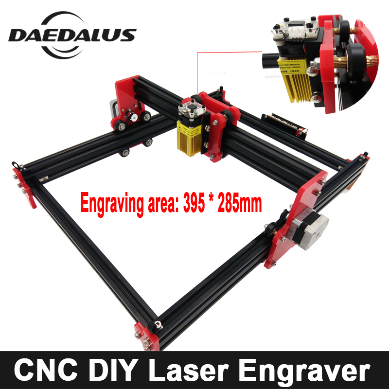395*285mm CNC Router Laser Engraving Machine DIY Mini Laser Cutting Tools Wood Routerl Engraver Marking Machine Advanced Toys цена