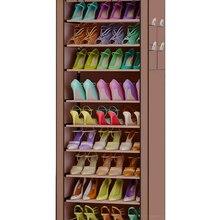 9 Ярусов мебель Оксфорд ткань домашняя обувь держатели для обуви шкафа хранения большой емкости домашняя мебель Diy простой