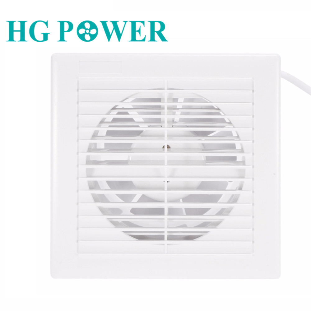 6inch 14W Silence Ventilating Exhaust Extractor Fan  For Bathroom Toilet Kitchen Window Wall Mounted 220V 110V Insect Prevention