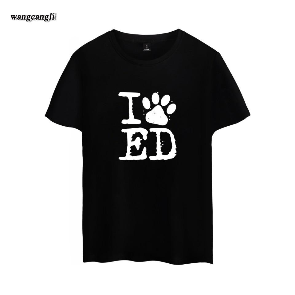 2018 SHEERAN 91 ED cartas imprimir mujer T shirt algodón Casual camiseta para Lady blanco negro gris camiseta más tamaño