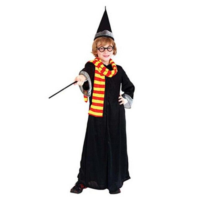Cosplay Halloween Costumes For Kids Harry Potter Costume Set Kids