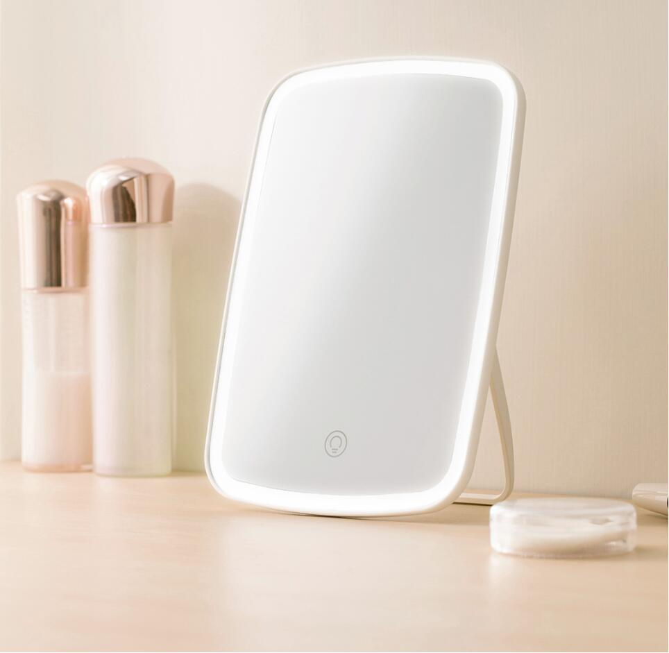 Xiaomi Mijia LED makeup mirror Touch-sensitive control LED natural light fill adjustable angle Brightness lights long battery li (1)