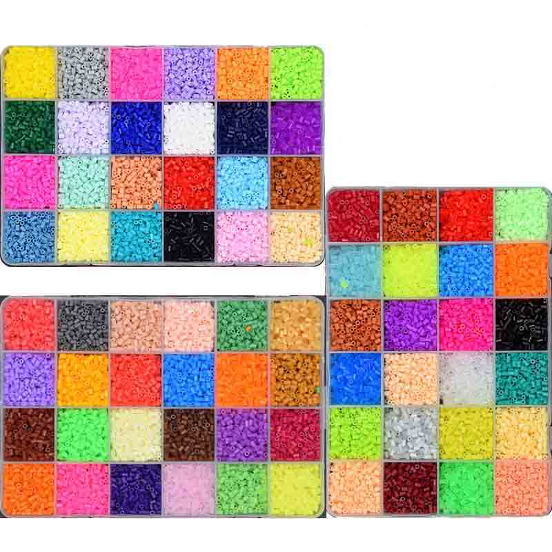 2.6mm EVA Hama/Perler Beads Toy Kids Fun Craft DIY Handmaking Fuse Bead Multicolor Creative Intelligence Educational Toys 5mm hama perler fuse beads 20 colours 4000pcs iron beads kids diy handmaking toys for children diy craft