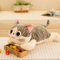 New Phong Cách Kawaii Dễ Thương Pho Mát Mèo Sang Trọng Đồ Chơi Gối Đệm Lớn mèo Đồ Chơi Ty Phim Hoạt Hình Thú Nhồi Bông Stich Búp Bê Anime Gift 50T0261