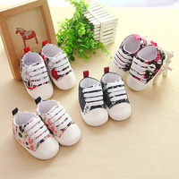 kid shoes tenis bebe Baby shoes cute 0 6 9 12 15 months children's canvas shoes small and delicate little girl little boy