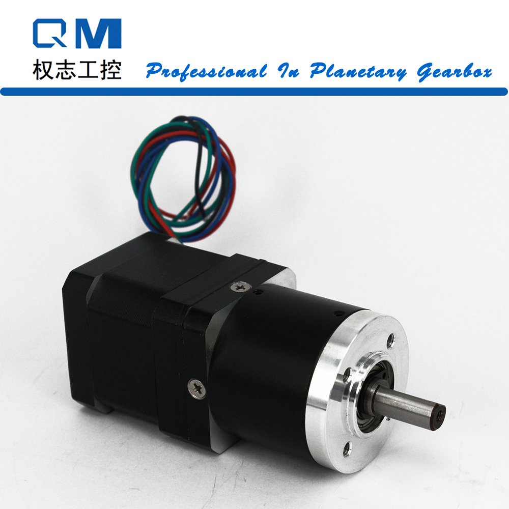 Gear motor planetary reduction gearbox ratio 50:1 nema 17 L=40mm stepper motor    cnc robot pump dental endodontic root canal endo motor wireless reciprocating 16 1 reduction