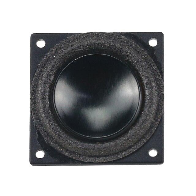 GHXAMP 18mm Mini Full Range Speaker Bluetooth Speaker DIY 4Ohm 2W  Boombox Radio Computer Tweeter MId Bass Loudspeaker 18*18mm 2
