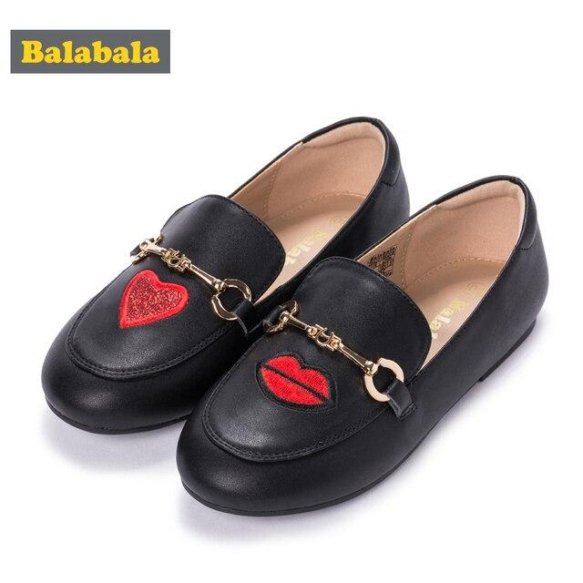 Balabala Kids Baby Toddler Flower Children Wedding Party Dress Princess Casual Shoes For Girls School Dance Shoes flat loafer