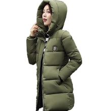 Winter Coat Women Cotton Padded Jackets Warm Overcoat Fashion Thicken Female Parkas Basic Coat Tops Hoodies Hot Black Parka XXXL
