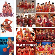Slam Dunk posters wall stickers vivid colorhome decoration white coated paper free shipping wholesale drop sale