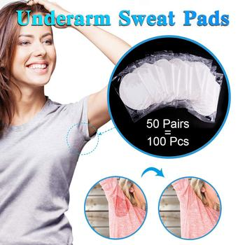 100/200/300/400pcs Underarm Sweat Pads Absorb Liners From Sweat Armpit Stickers Anti Armpits Pads For Clothes Deodorant For Men 1
