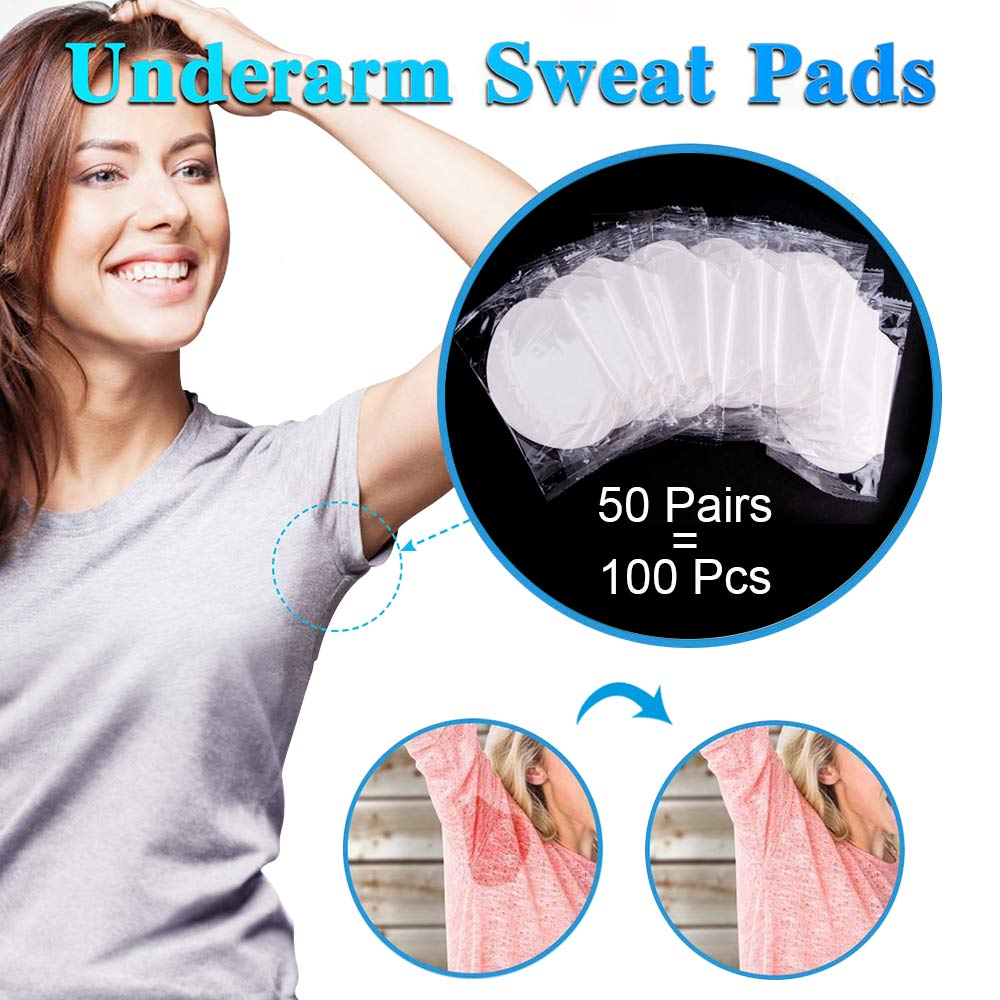 100/200/300/400pcs Underarm Sweat Pads Absorb Liners From Sweat Armpit Stickers Anti Armpits Pads For Clothes Deodorant For Men