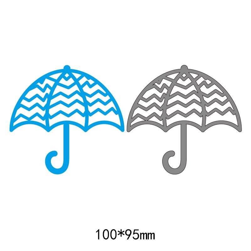 Umbrella pattern frames metal steel cut dies DIY Scrapbook Album Paper Card Cutting Dies Stencil for card Crafts 2018 new in Cutting Dies from Home Garden