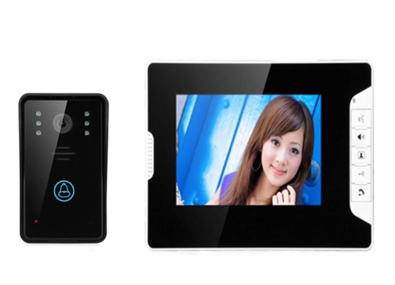 7 Inch 700TVL Water-Proof Intercom Video Door Phone 813-MJ