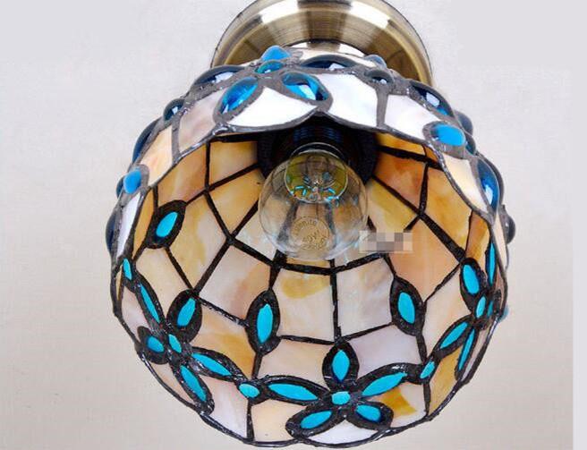 Blue Lilac Ceiling Light 13