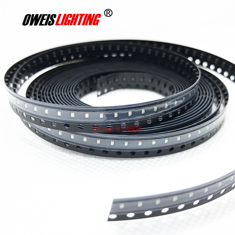 1000PCS 0603 RED SMD LED 620-625NM 1.6*0.8mm 90-110mcd 1.8-2.0v 20mA 1608 Light Beads Lamps