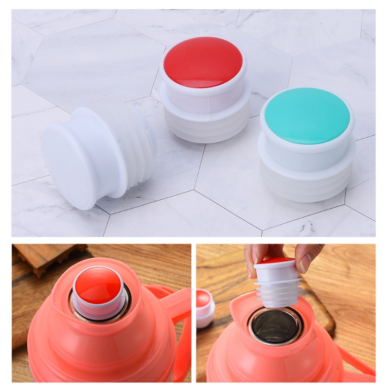Food Grade Silicone Thermos Plug Cap Stopper Bottle Lid Replacement Kettle Parts