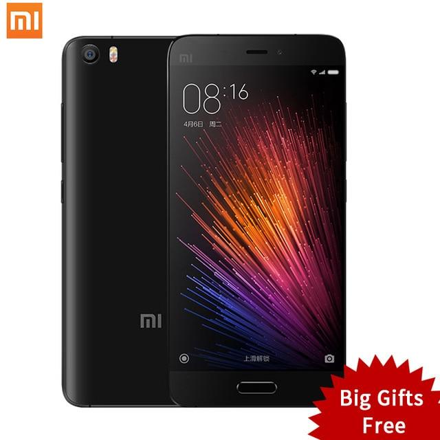 "Original Xiaomi Mi5 Mi 5 Pro Prime Mobile Phone Xiomi Smartphone 5.15"" Snapdragon 820 MIUI 8.1 Dual SIM Card NFC Fingerprint ID"