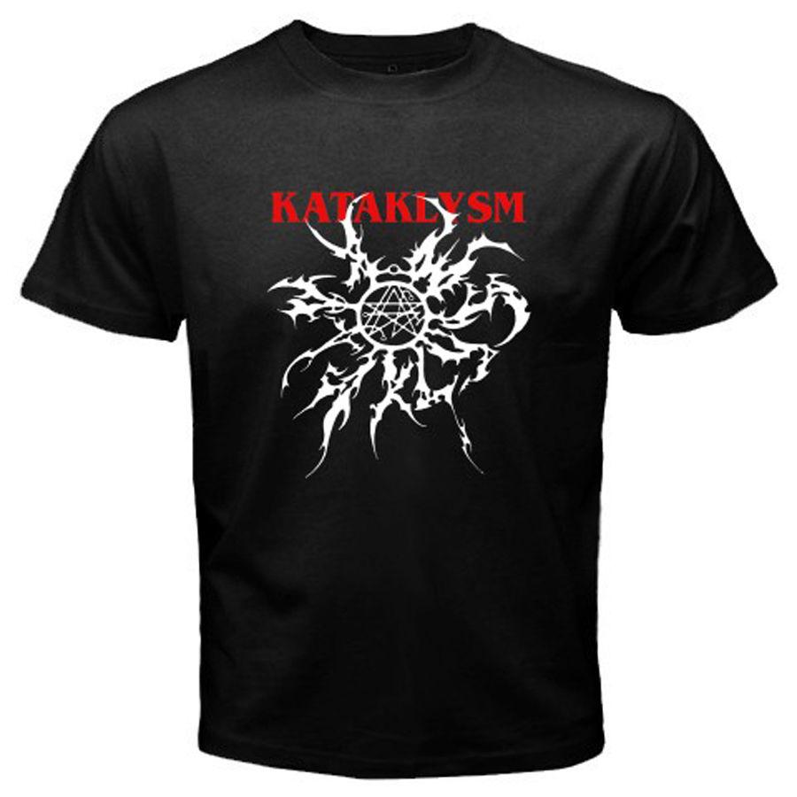 Nouveau KATAKLYSM Death Metal Rock Band Hommes de Noir T Shirt Taille S M L XL 2XL