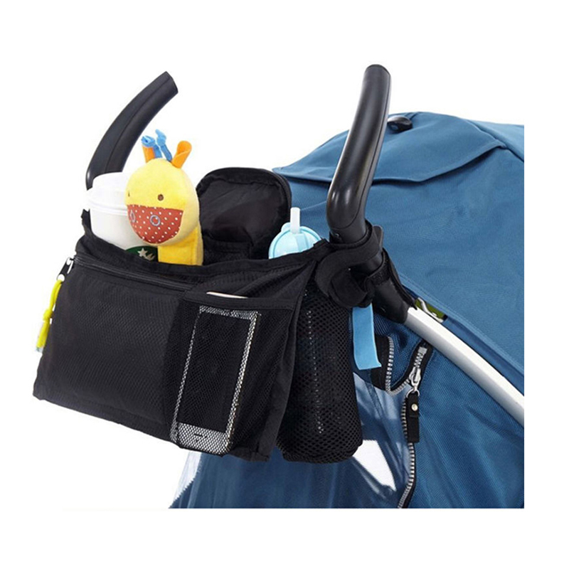 Upgrade Version Universal Cup bag Baby Stroller Organizer Baby Carriage Pram Baby Cup Holder Stroller Accessories Bag B1006 цена