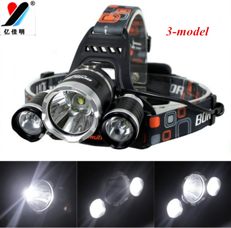 Hot Sale New Design 15pcs/lot 30W T6 LED Headlight Headlamp Head Light rechargeable led Headlight Ultra Bright Free Shipping