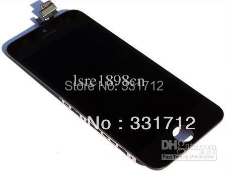 For iPhone 5G complete LCD screen with glass digitizer touch panel assembly