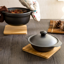 Multi function Kitchen font b ware b font bamboo heat pad placemat slip resistant anti hot