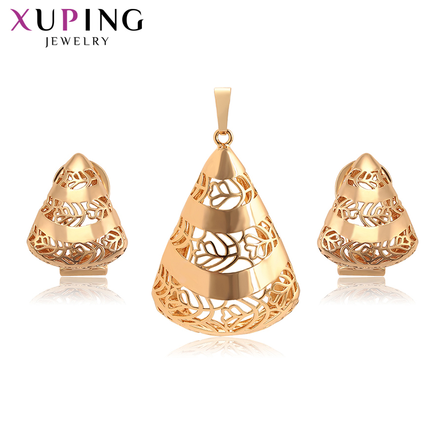 Xuping Vintage Set Special Design Fantastic Style for Girl Women Imitation Jewelry Sets Gift for Graduation Gifts S200.8-65326