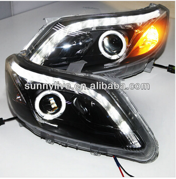 Imseoer Angel yeux LED phares pour CHEVROLET SAIL 2010-13