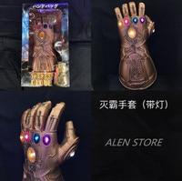 Thanos Infinity Gauntlet Led Action Figures Cosplay Superhero Iron Man Anime Avengers Infinity War Thanos Led Glove Halloween