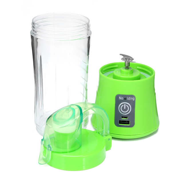 USB Rechargeable 380ml Portable Blender Juicer Cup