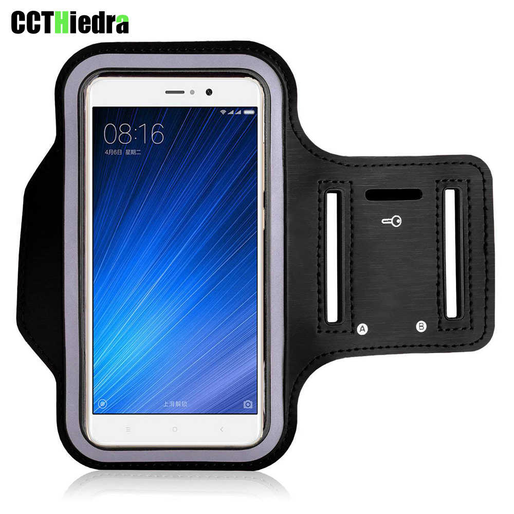 CCTHiedra  For Xiaomi Redmi 4X 5A 4A Mi6 5s 3s redmi 4X 5A Note 3 4 Waterproof Gym Run Armband Phone Bag Arm Band 5.0 to 5.5inch