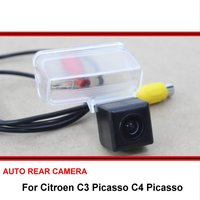 For Citroen C3 Picasso C4 Picasso Night Vision Rear View Camera Reversing Camera Car Back up Camera SONY HD CCD Vehicle Camera