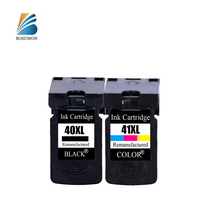 Bosumon Re manufactured PG 40 CL 41 ink cartridge For Canon PIXMA MP140 MP150 MP160 MX310 MP450 MP170 IP2600 IP1800 IP1700 MP160