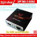 O envio gratuito de New SPT Box 2 (SPTBOX) + mais recente 3 cabos-repair software flash & unlock ferramenta para samsung telefones celulares