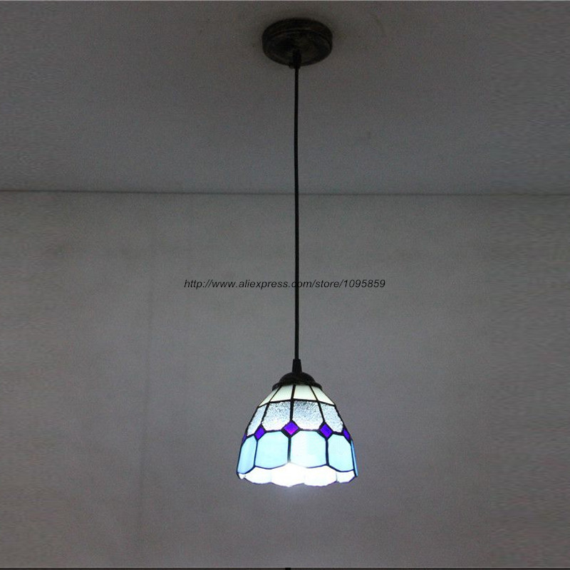 Modern Glass Pendant Light Fixture Ceiling Lamp Hanging Lighting Blue Kitchen Lamps D 15cm vemma acrylic minimalist modern led ceiling lamps kitchen bathroom bedroom balcony corridor lamp lighting study