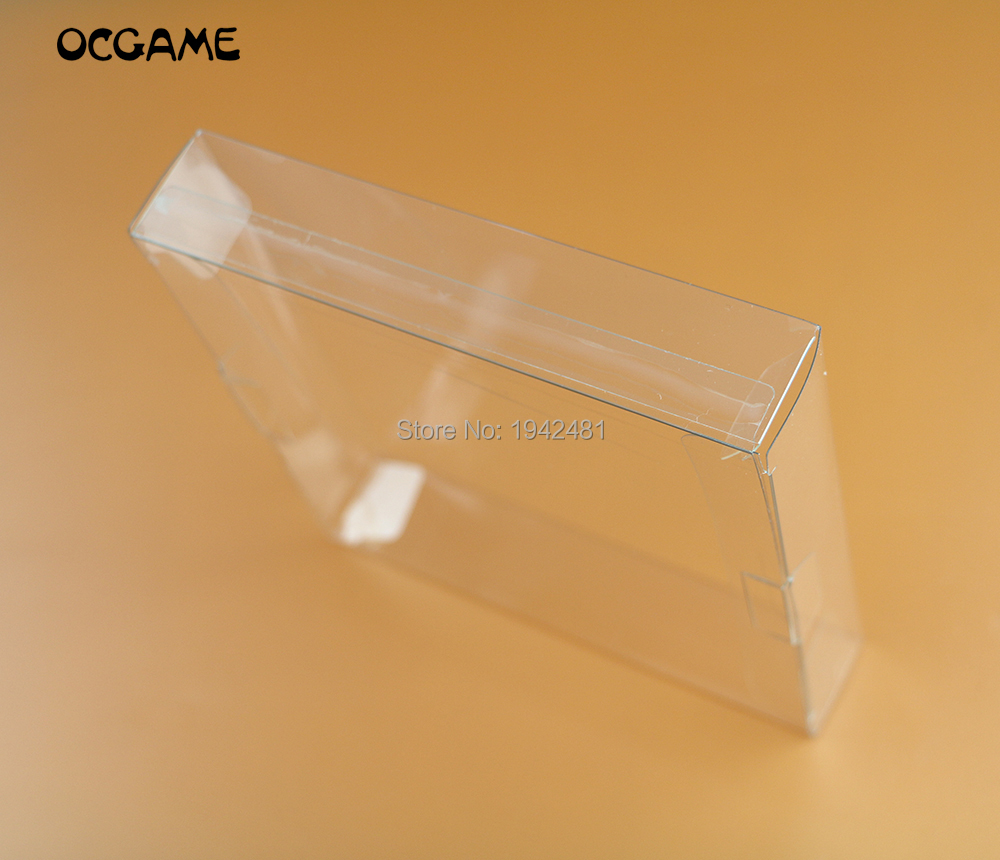 OCGAME 5pcs/lot Clear transparent for <font><b>Gameboy</b></font> Advanve <font><b>Color</b></font> <font><b>Game</b></font> Cartridge box Protector Case CIB <font><b>games</b></font> plastic PET for GBA GBC image